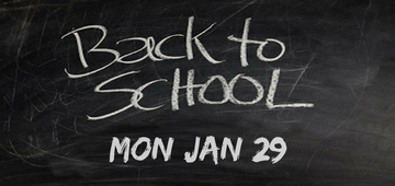 School will commence Monday January 29 for 2018