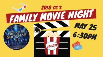 Family Movie Night hosted by and located at Golden Grove Lutheran Church at 6:30pm on May 25. Bring a cushion, pillows etc and come in your pj's if you wish. Register online at www.goldengrove.sa.edu.au