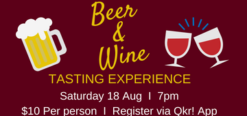 Golden Grove Lutheran Primary School Parents and Friends presents a beer and wine tasting experience on Saturday August 18 from 7pm, in the staff room. Tickets are $10 and can be purchased using the quicker app. Come along and try some international beer and wine and hear from a winemaker. Nibbles are provided and paella available to buy. There is an option to purchase drinks after tasting. Family and friends are welcome too.